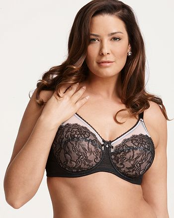 06e1a68c963 Wacoal - Retro Chic Full Figure Unlined Underwire Bra