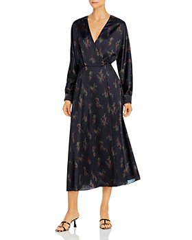Vince - Wisteria Wrap Dress