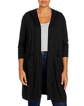 Marc New York Plus - Plus Size Hooded Duster Cardigan