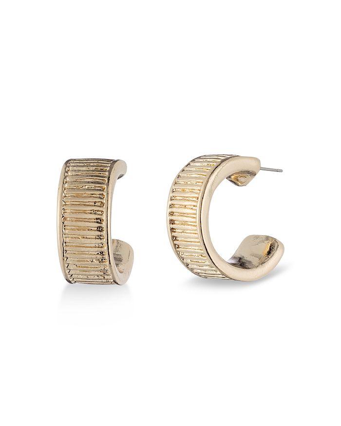 Ralph Lauren - Textured Hoop Earrings