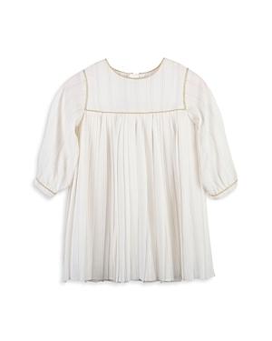Chloe Girls\\\' Metallic Pleated Dress - Baby-Kids