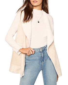 cupcakes and cashmere - Chrissie Faux Shearling Vest