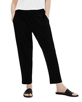 Eileen Fisher Petites - Ribbed Ankle Pants