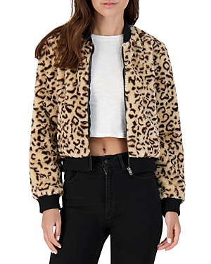 Bb Dakota Meow Factor Faux Fur Bomber Jacket-Women