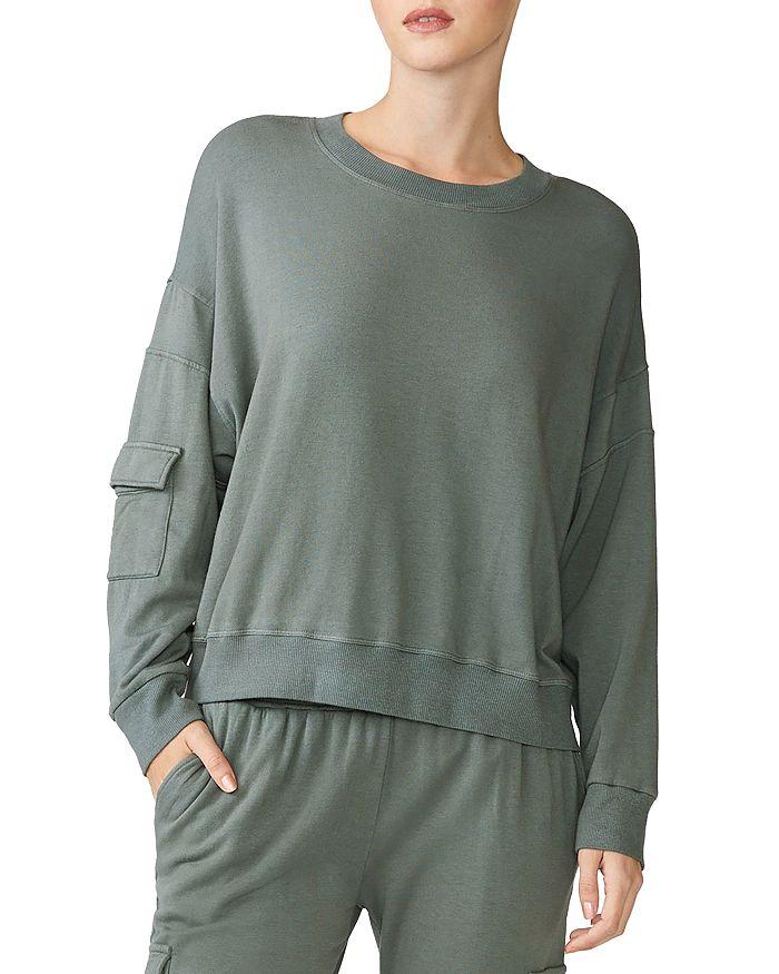 Monrow - Pocketed-Sleeve Sweatshirt