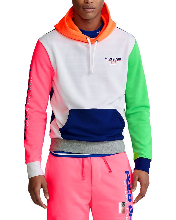 Polo Ralph Lauren - Polo Sport Color Block Fleece Hoodie