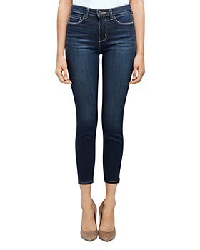 L'AGENCE - Margot High-Rise Skinny Jeans in Orlando
