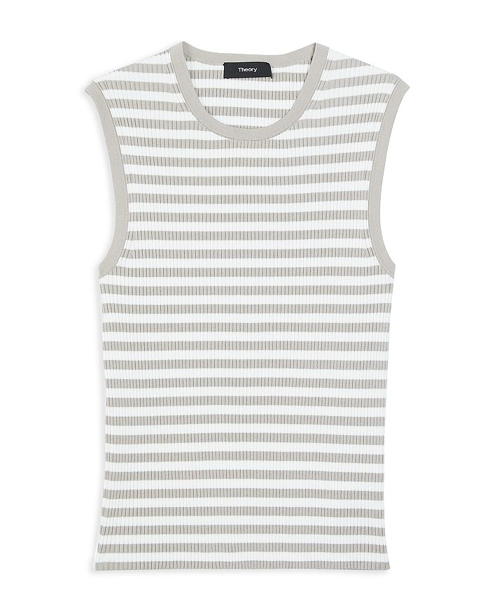Theory GAL STRIPED RIBBED SHELL
