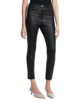Theory - Leather Skinny Pants