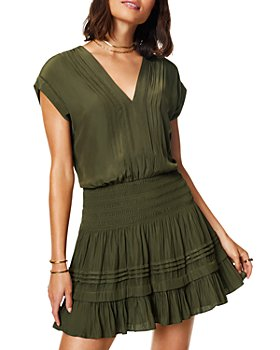 Ramy Brook - Vanessa Smocked Waist Dress