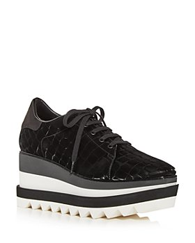 Stella McCartney - Women's Elyse Wedge Platform Sneakers