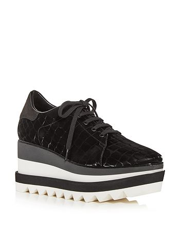 Stella McCartney - Women's Elyse Wedge Platform Sneakers