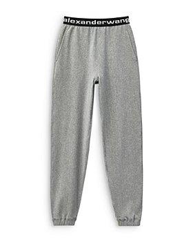 alexanderwang.t - Logo Waist Stretch Corduroy Pants