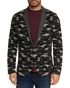 Robert Graham - Knit Camouflage Classic Fit Cardigan