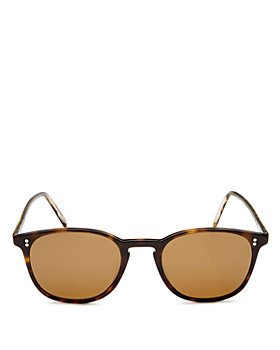 Oliver Peoples - Unisex Finley Vintage Polarized Square Sunglasses, 49mm