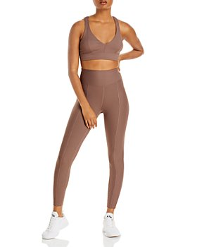 Year of Ours - Victoria Ribbed Cutout Sports Bra & 54 Leggings