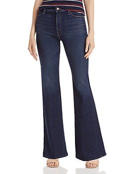 MOTHER - The Doozy Bootcut Jeans in Bombay Lost And Found