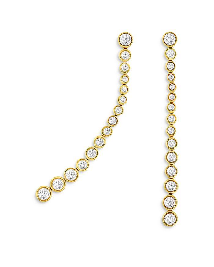 Bloomingdale's Diamond Linear Drop Earrings in 14K Yellow Gold, 1.0 ct. tw. - 100% Exclusive  | Bloomingdale's