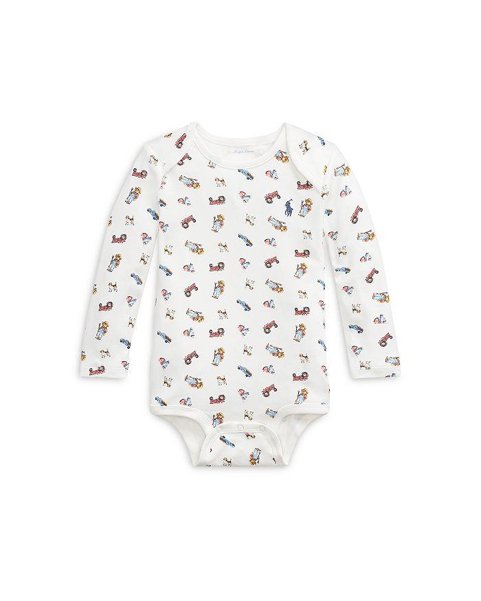 Ralph Lauren - Boys' Farmer Bear Cotton Bodysuit - Baby