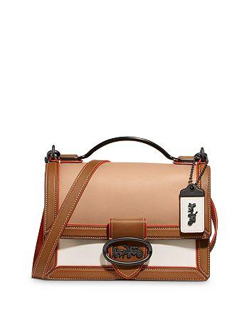 COACH - Riley Mini Colorblock Glovetanned Leather Handbag
