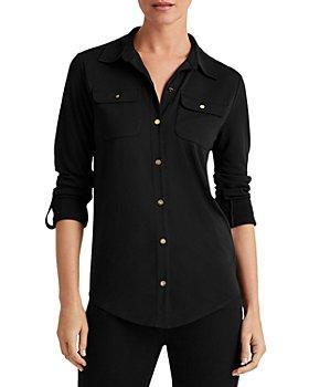 Ralph Lauren - Knit Button Up Shirt