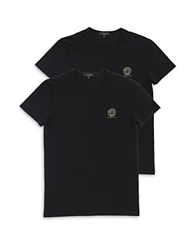 Versace - Men's Cotton Blend Tees, Pack of 2