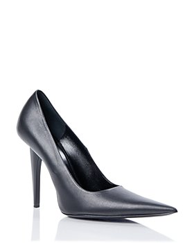 Balenciaga - Women's Shark Leather Pumps
