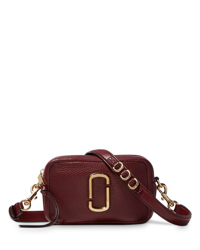 MARC JACOBS MARC JACOBS The Softshot 17 Small Leather Crossbody    Bloomingdale's