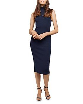 L'AGENCE - Mina Turtleneck Midi Dress