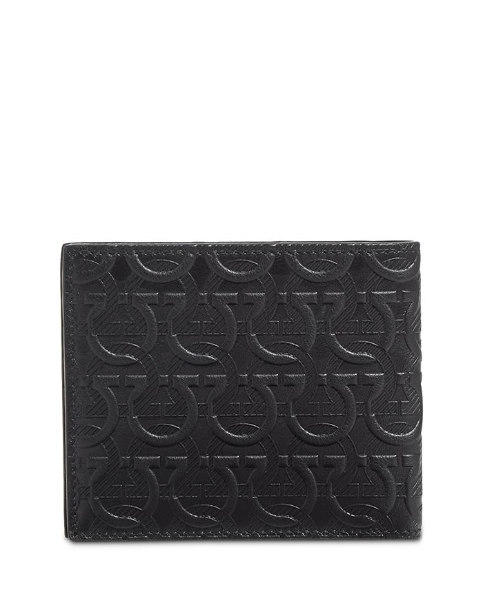 Salvatore Ferragamo - Embossed Gancini Leather Wallet