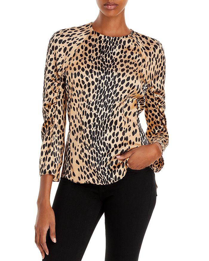 Rebecca Taylor - Leopard Print Silk Blouse