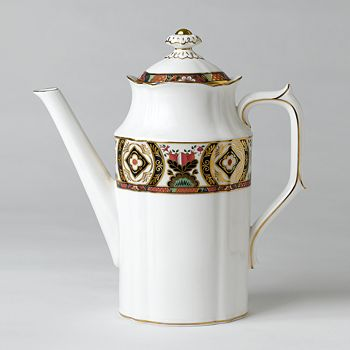 "Royal Crown Derby - ""Chelsea Garden"" Coffee Pot"