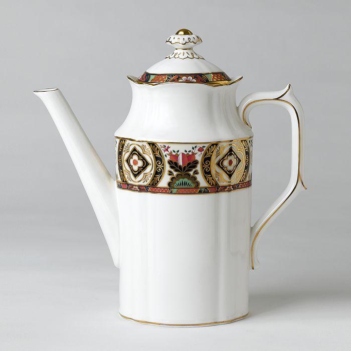 "Royal Crown Derby - ""Chelsea Garden"" Coffee Pot"