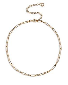 "BAUBLEBAR - Hera Link Choker Necklace, 13""-16"""