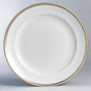 "Royal Crown Derby - ""Carlton Gold"" Round Chop Dish"
