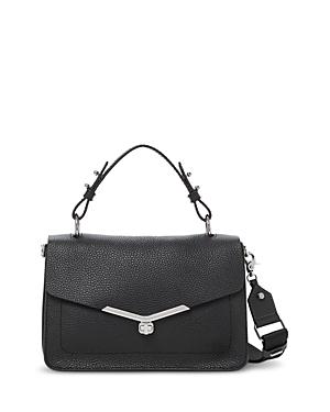 Valentina Medium Leather Satchel