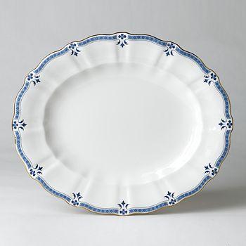 """Royal Crown Derby - """"Grenville"""" Oval Platter, 13"""""""