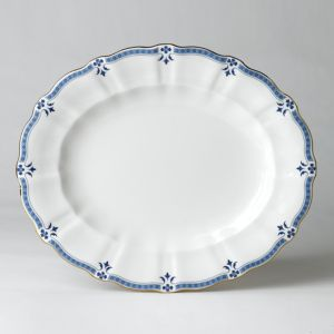 Royal Crown Derby Grenville Oval Platter, 13