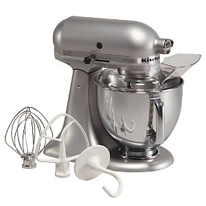 KitchenAid Artisan 5-Quart Tilt Head Stand Mixer with Stainless Steel Bowl #KSM150PS