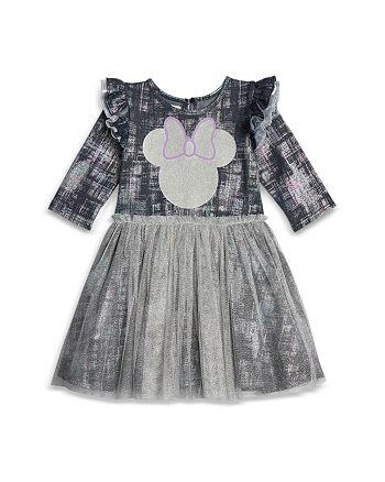 Pippa & Julie - Disney x Pippa & Julie Girls' Minnie Denim Tutu Dress - Baby