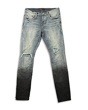 Purple Brand - Skinny Fit Jeans in Black
