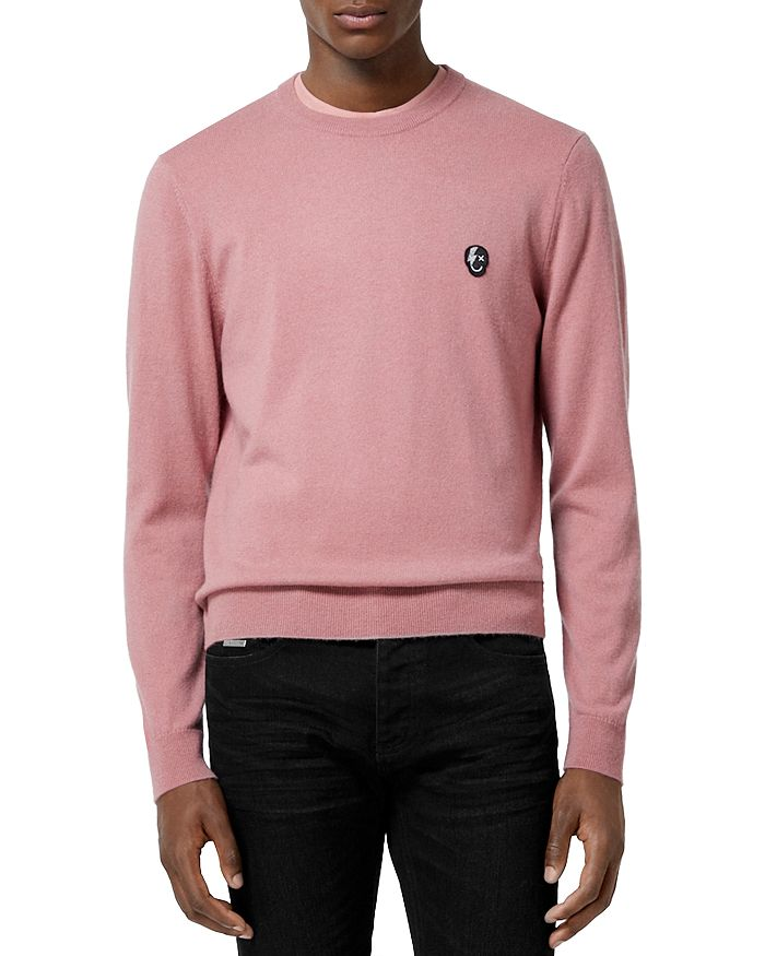 The Kooples - Wool Cashmere Skull Sweater