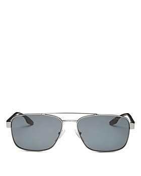 Prada - Men's Polarized Brow Bar Aviator Sunglasses, 59mm