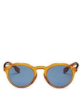 Burberry - Men's Round Sunglasses, 50mm