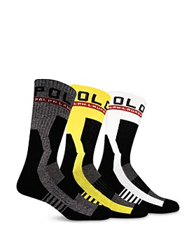 Polo Ralph Lauren - Racing Crew Socks, Pack of 3