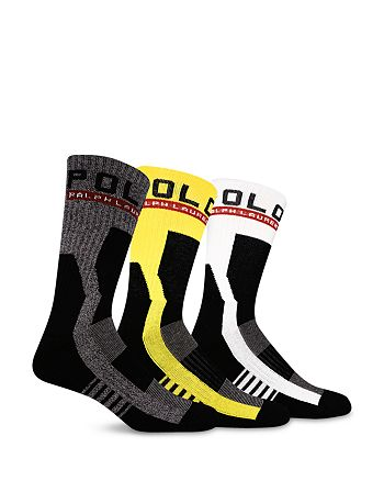Polo Ralph Lauren - Racing Crew Socks, Pack of 3