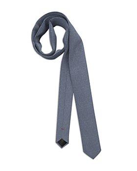 HUGO - Silk Broken Crosshatch Skinny Tie