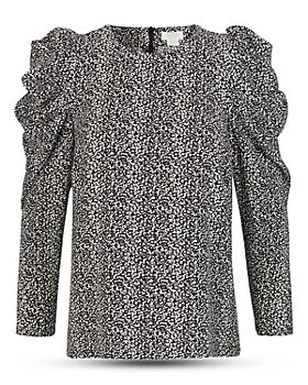 Notes du Nord - River Printed Puff Sleeve Blouse