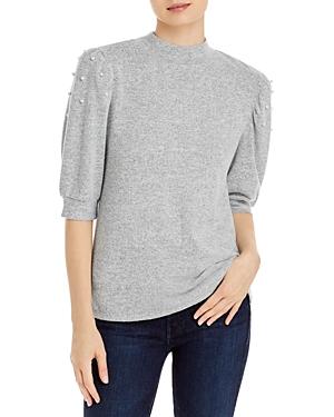 Puff Shoulder Sweater
