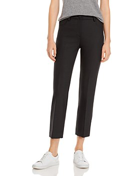 Theory - Canton Straight Leg Cropped Pants